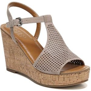 Franco Sarto Cork Wedge